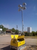 Tour Model Skid Mount - 6kw/4-Light Metal Halide