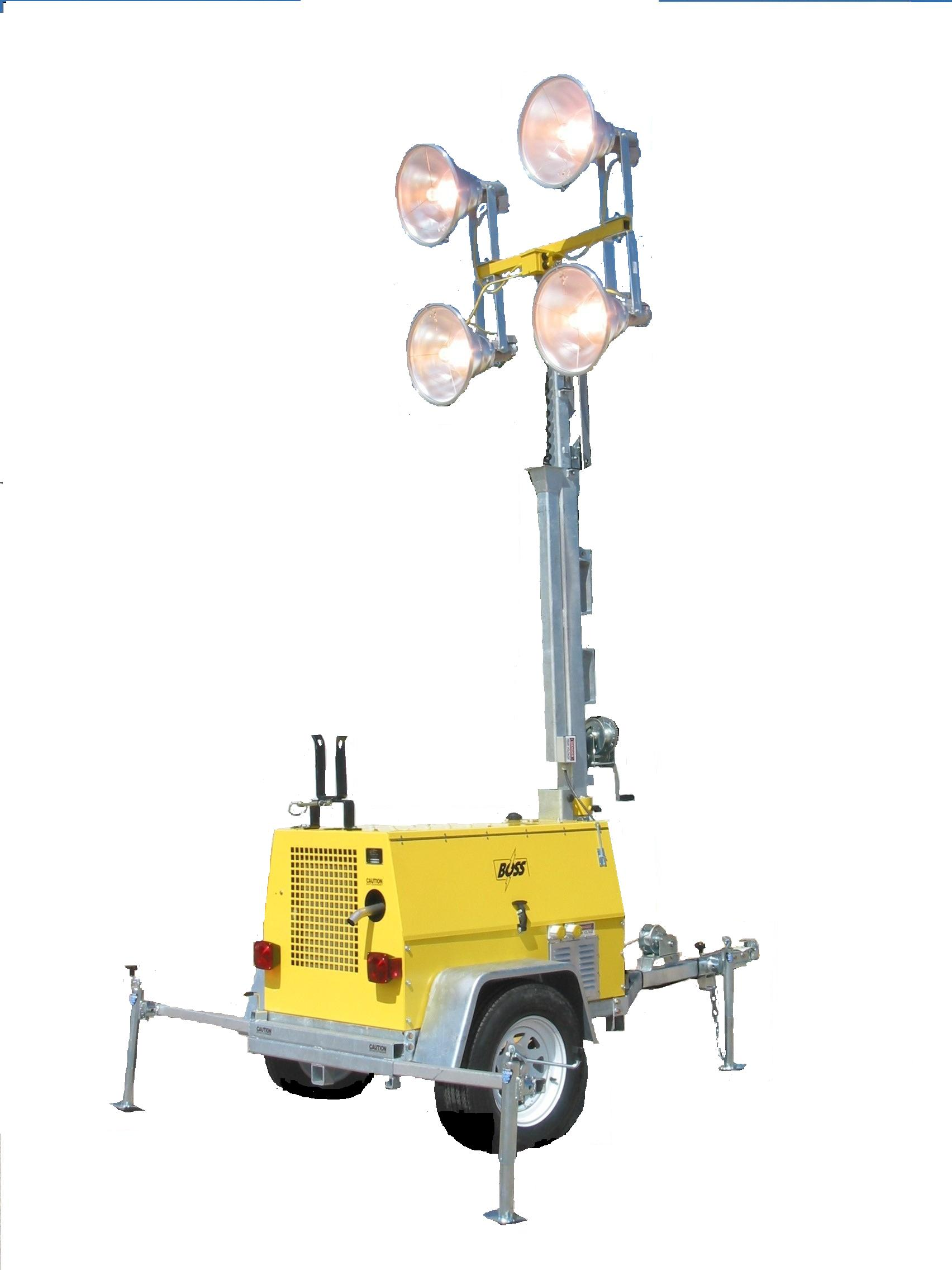 Tour Model 6kw 4 Light Metal Halide Or Led Tower 480 Volt Wiring Diagram Kubota