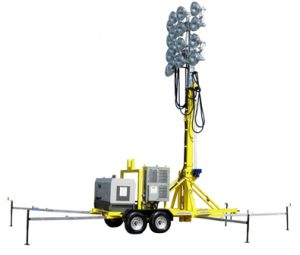 PLANT TURNAROUND LIGHT TOWERS