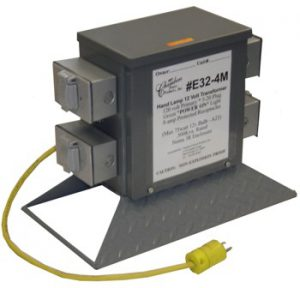 FOUR OUTLET LOW VOLTAGE LIGHTING TRANSFORMER