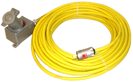 Explosion Proof 50 Foot Extension Cord 120 Volt Plug And