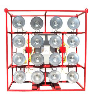PORTABLE CAGE LIGHTS 480V-120V ELECTRIC POWERED UNITS