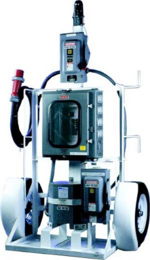 25KVA 480v -120/240v Transformer Distribution GFCI System Towaable