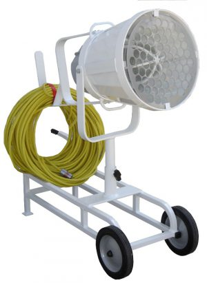 EXPLOSION PROOF -CART MOUNT- 18 inch Diameter Floodlight