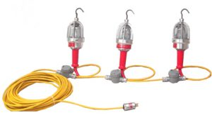 3 LAMP - 120V Explosion Proof String Light