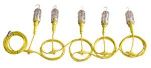 5 LAMP - 120V VAPOR PROOF String Light