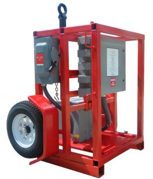25KVA 480v -120/240v Transformer Distribution GFCI System TOWABLE