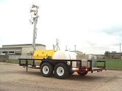 PORTABLE UTILITY JOB-SITE LED LIGHT TOWER