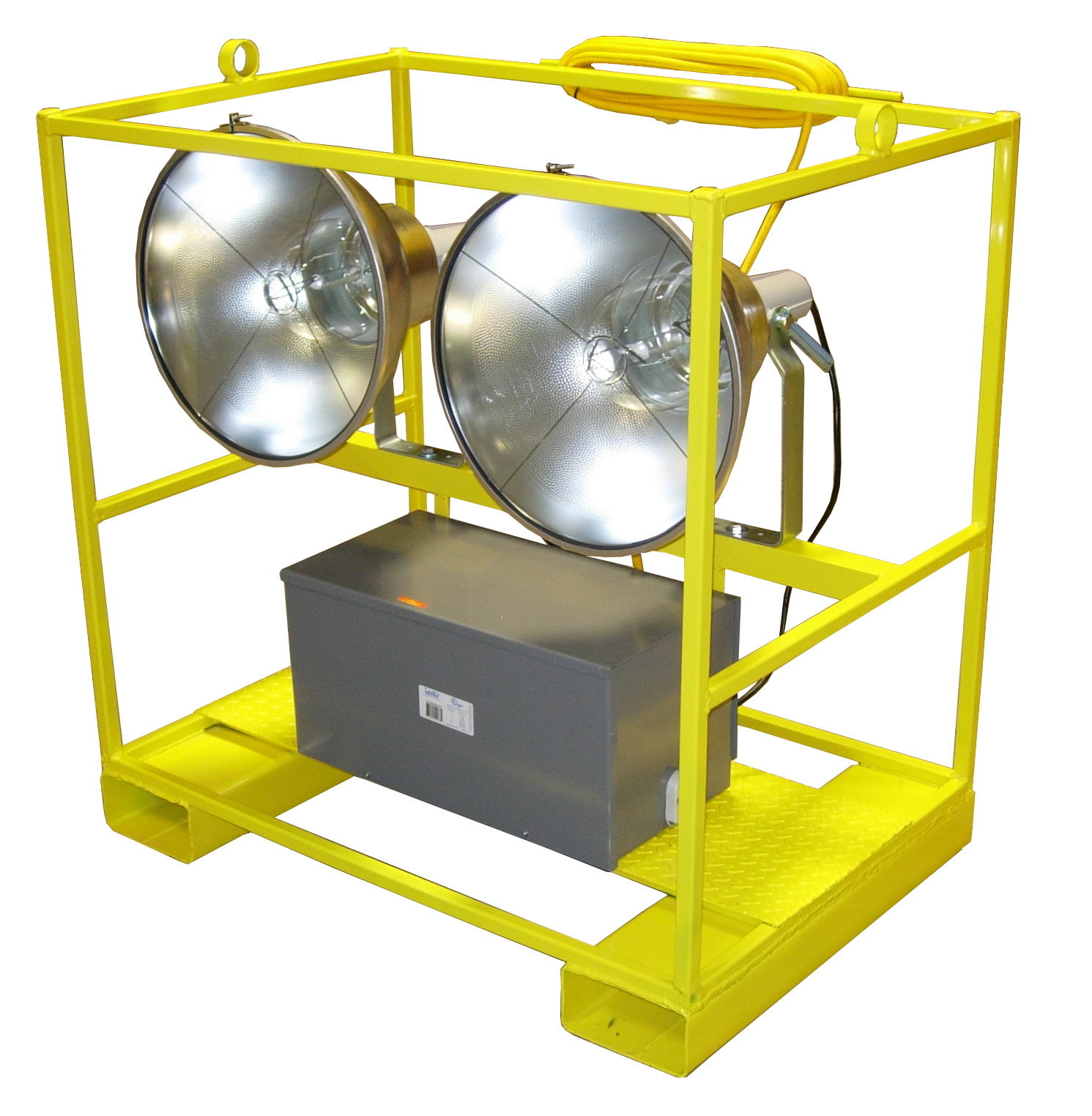 Portable Metal Halide Lights : W cage lights metal halide floodlights volt