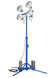 PORTABLE SPORTING EVENT FLOODLIGHTING