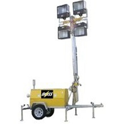 Metal Halide Lamps Hazardous Waste: Hazardous Division 2 Rated 40 Foot Light Tower 4 X 1000w