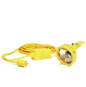 PORTABLE LED WATER-VAPOR PROOF HAND-LAMPS 12-VOLT