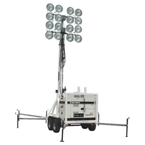 80 Foot Sports Ball Field Portable Stadium Light Tower 16